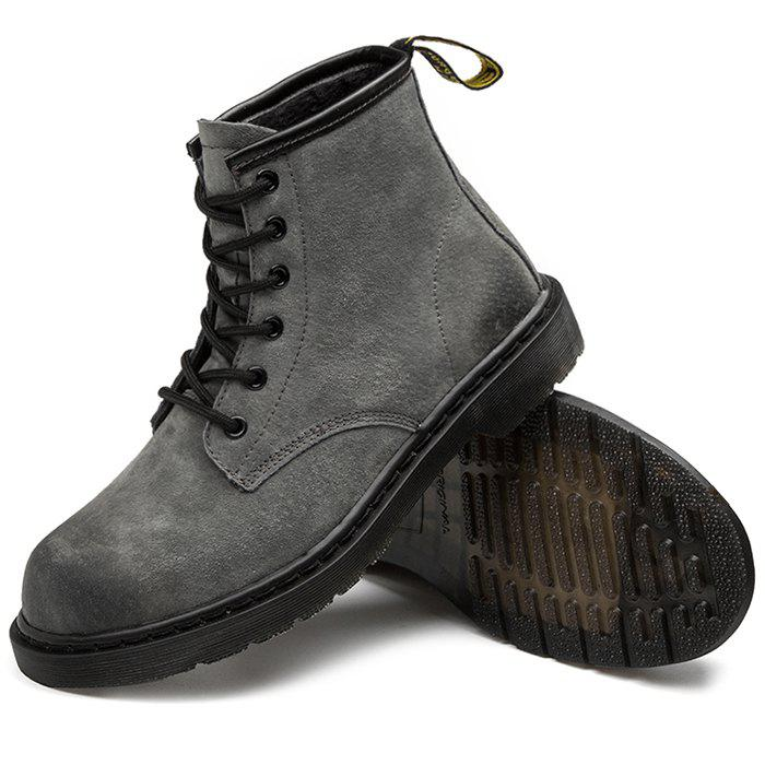 Online Stylish Lace-up High-top Wear-resistant Boots for Men