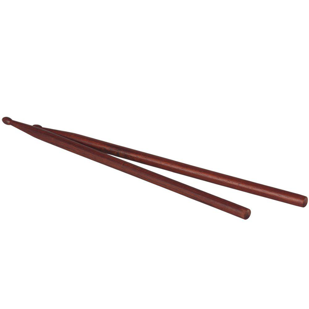 Outfits Pair of Mahogany Drum Sticks Percussion Instrument Accessories