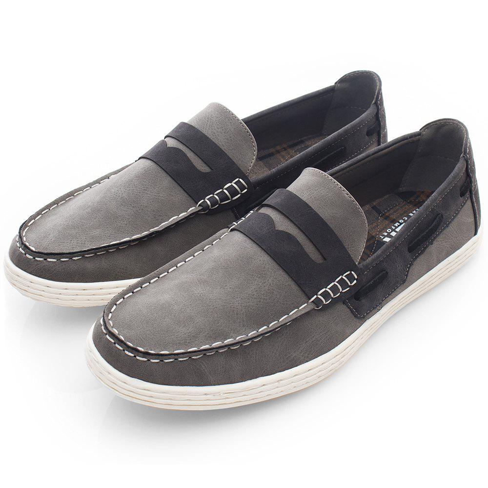 Shops XPER Leisure Comfortable Stylish Slip-on Casual Flat Shoes for Men