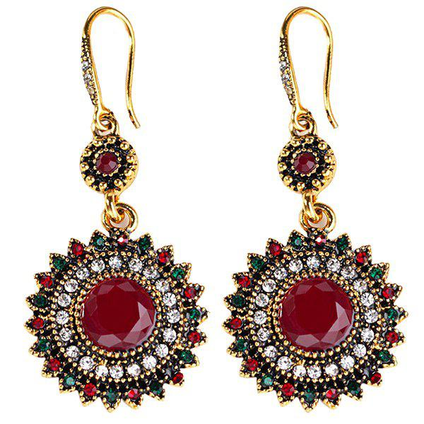 Fashion Europe and America Bohemian Retro Ethnic Style Earrings