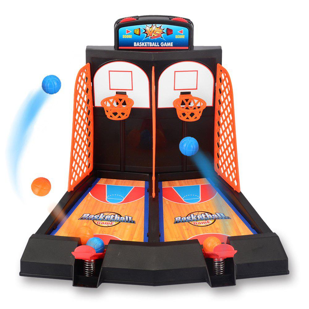 Outfits Assembled Desktop Basketball Shooting Game Set Parent-child Interaction Toy