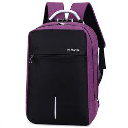 Multi-function Fashion Rechargeable Durable Backpack -