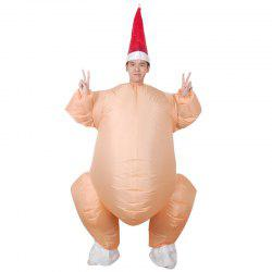Funny Turkey Shape Inflatable Mode -