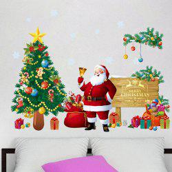 Christmas Sticker Wallpaper PVC Removable Room Decoration -