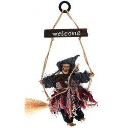 Halloween Hanging Decoration Party KTV Ghost Festival Bar Antique Witch -