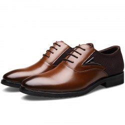 Stylish Business Leisure Comfortable Casual Leather Shoes for Men -