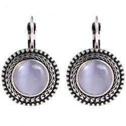 Fashion Vintage Style Opal Earrings for Women -