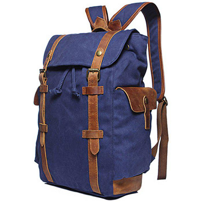 2019 Gfavor Outdoor Large Capacity Canvas Backpack   Rosegal.com e6fd79e445