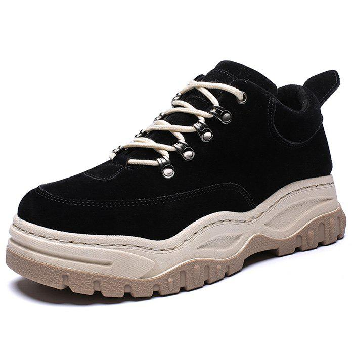 786c713aeda5c Fashion High Platform Shoes Rubber Sole for Men