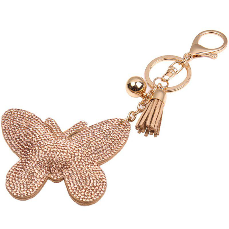 Hot Creative Butterfly Style Fashion Keyring