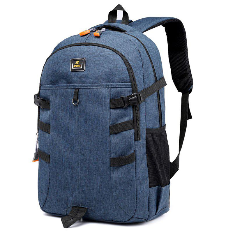 58f6c49e05 2019 Simple Fashion Large-capacity Student Backpack For Travel ...