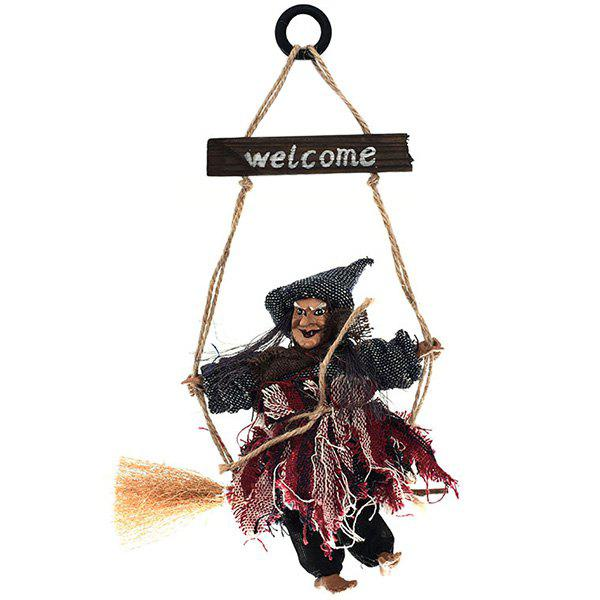 Sale Halloween Hanging Decoration Party KTV Ghost Festival Bar Antique Witch