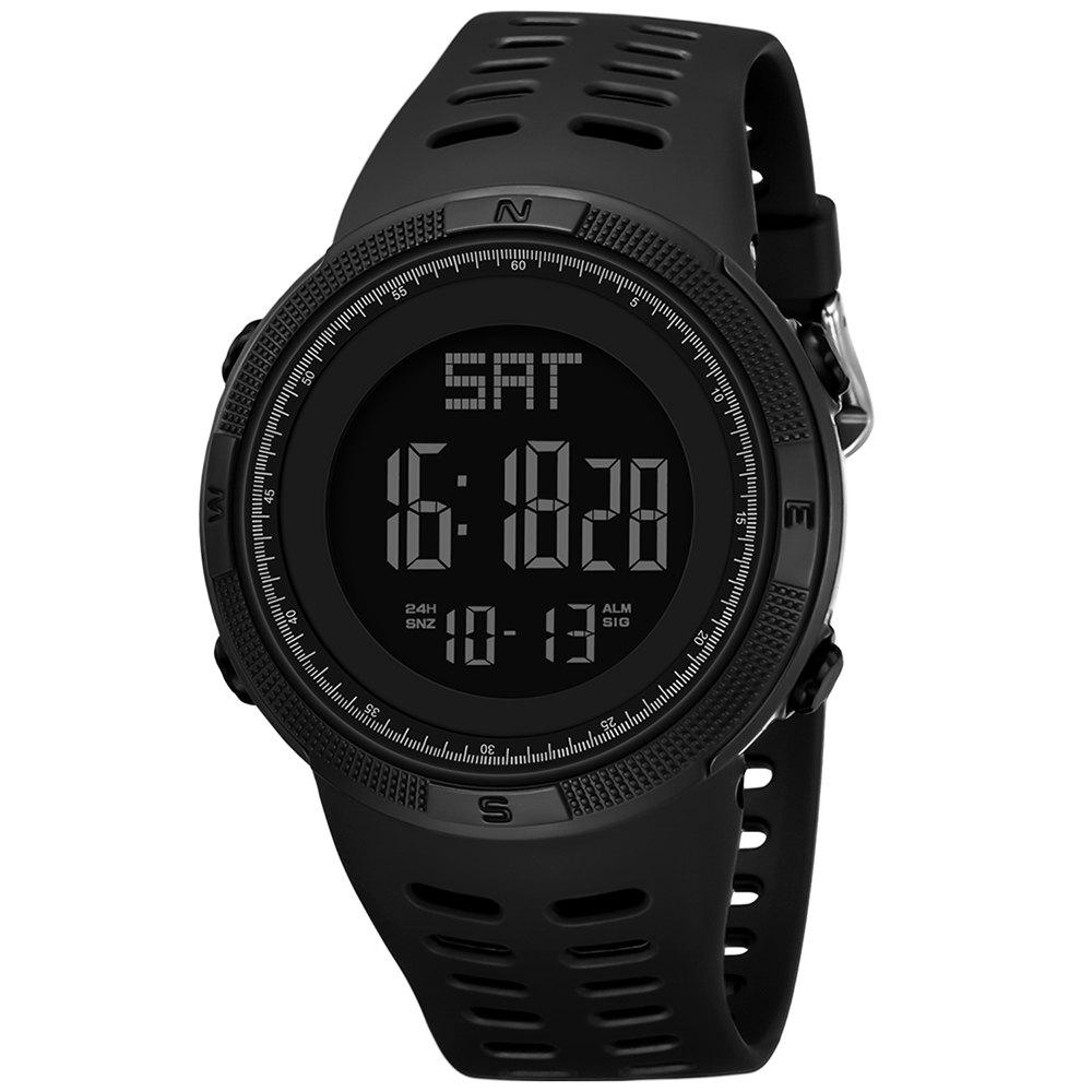 Fancy PANARS Men Digital Watch with Plastic Band