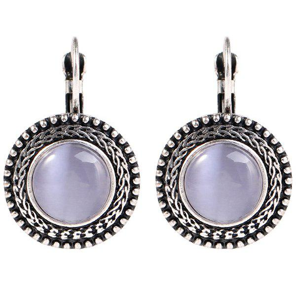 Cheap Fashion Vintage Style Opal Earrings for Women