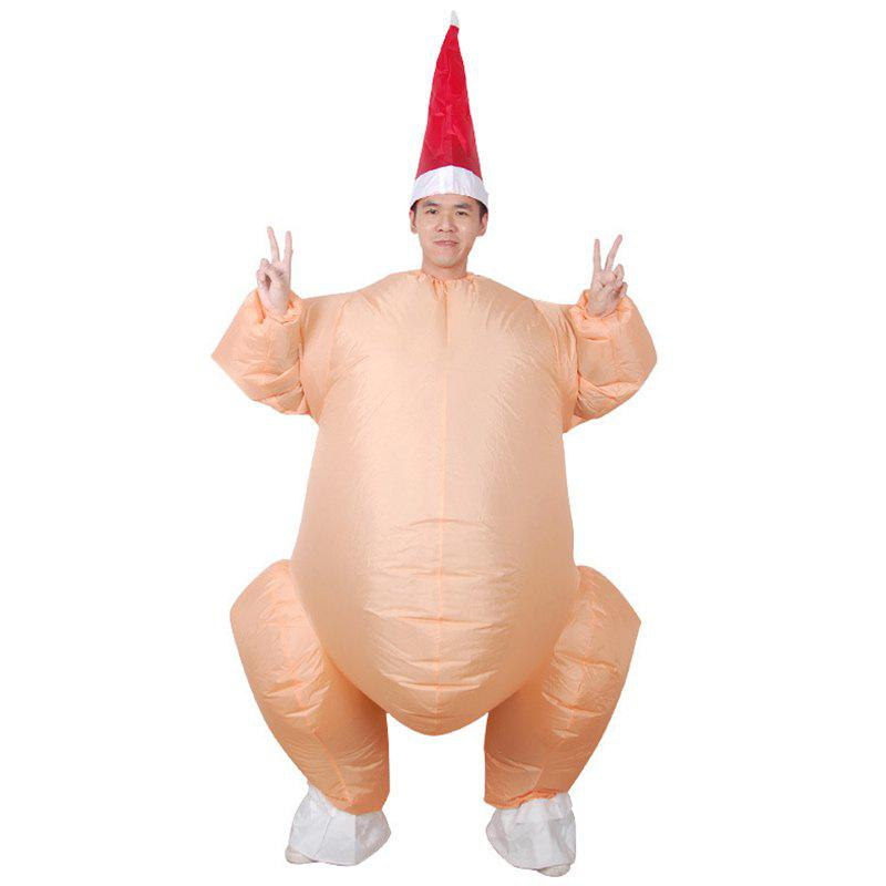 Outfit Funny Turkey Shape Inflatable Mode
