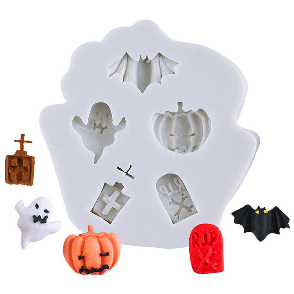 Affordable DIY Halloween Pattern Silicone Mold