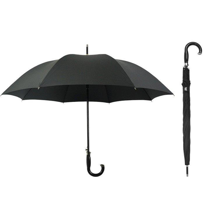 Hot Automatic Long Handle Straight Bone Windproof Commercial Umbrella