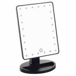 KW033 24-LED Battery Powered Base Table Mirror -