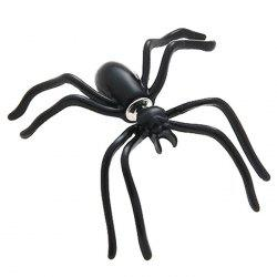Black Spider Earring Funny Halloween Decoration -