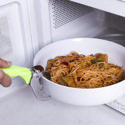 Stainless Steel Scald-proof Multipurpose Bowl / Plate Clip for Family Kitchen -