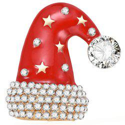 Christmas Hat Style Beautiful Brooch for Women -