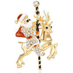 Christmas Reindeer Style Beautiful Brooch for Women -