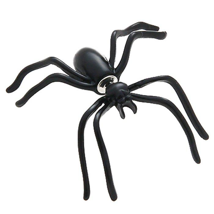 Outfit Black Spider Earring Funny Halloween Decoration