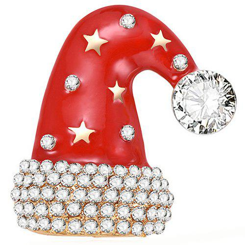 Hot Christmas Hat Style Beautiful Brooch for Women