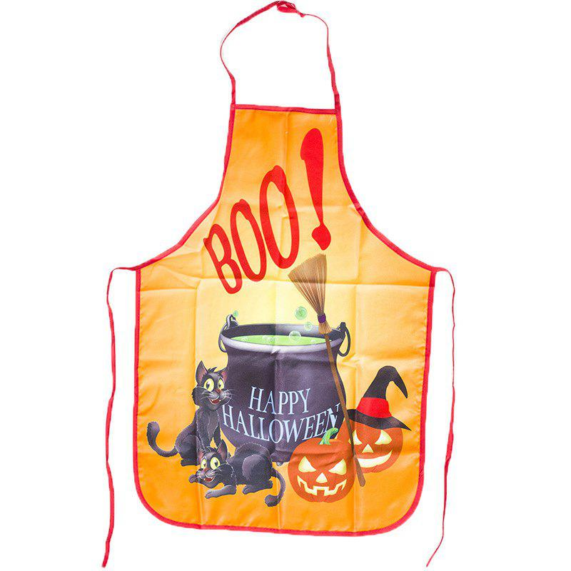 New Halloween Kitchen Portable Funny Anti-Oil Apron