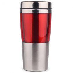 Heat Resistant Anti-shock Double-layer Stainless Steel Travel Mug -