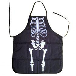 Halloween Skeleton Horror Gift Home Party Apron -