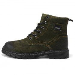 Men Boots Lace Up Casual Wearable Anti-slip -