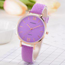 Femmes PU Band Watch Fashion -