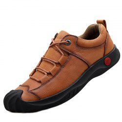 Men Stylish Shoes Casual Leather Comfortable -