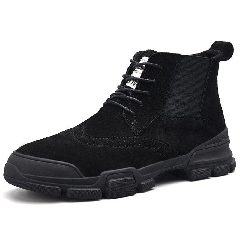 Trendy Men's High Top Martin Boots for Daily Use