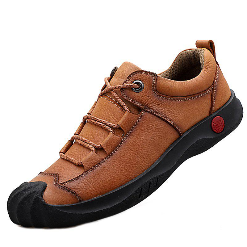 Cheap Men Stylish Shoes Casual Leather Comfortable