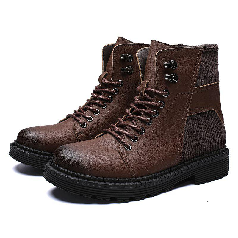 Chic Men's Boots Safety High Top for Outdoor