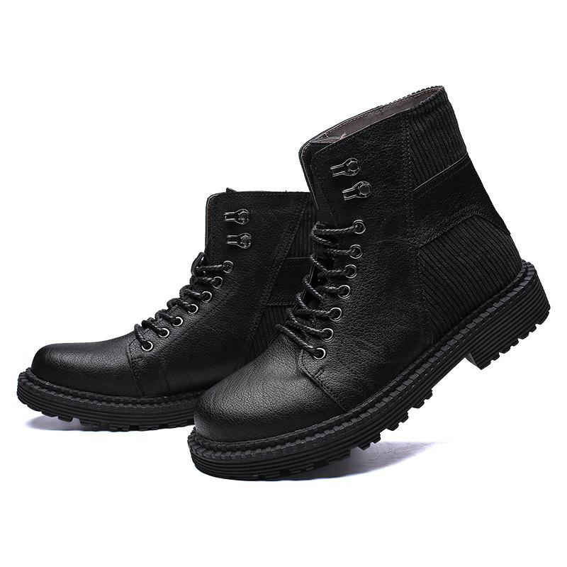 Fashion Men's Boots SafetyHigh Top for Outdoor