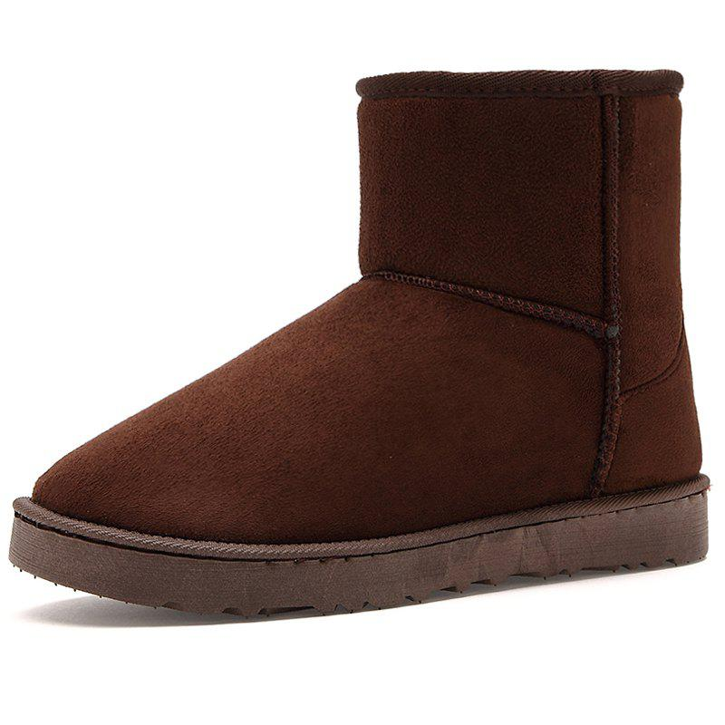 Chic Men's Boots Stylish Solid Color Comfortable