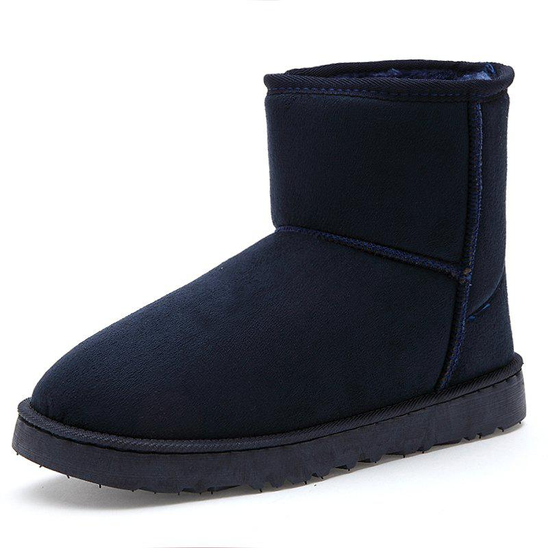 Buy Men's Boots Stylish Solid Color Comfortable