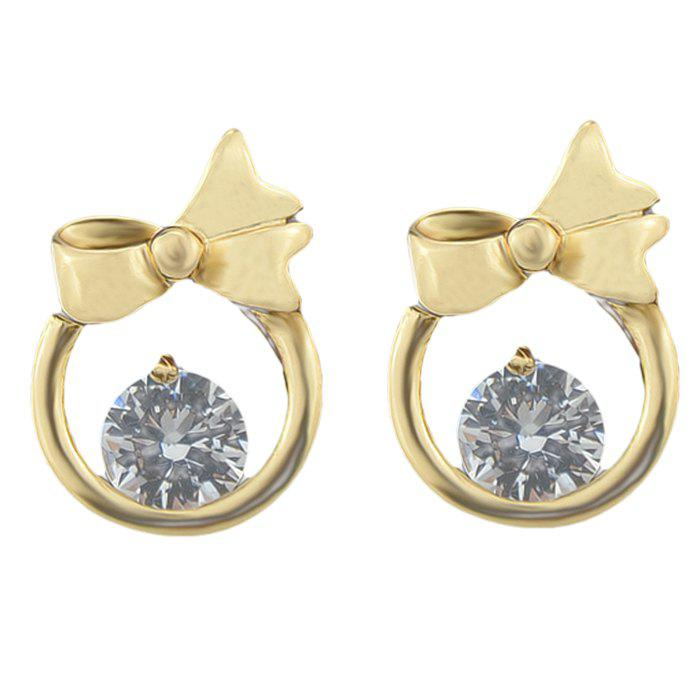 Outfit ER - 5874 Simple Bow Fashion Stud Earrings