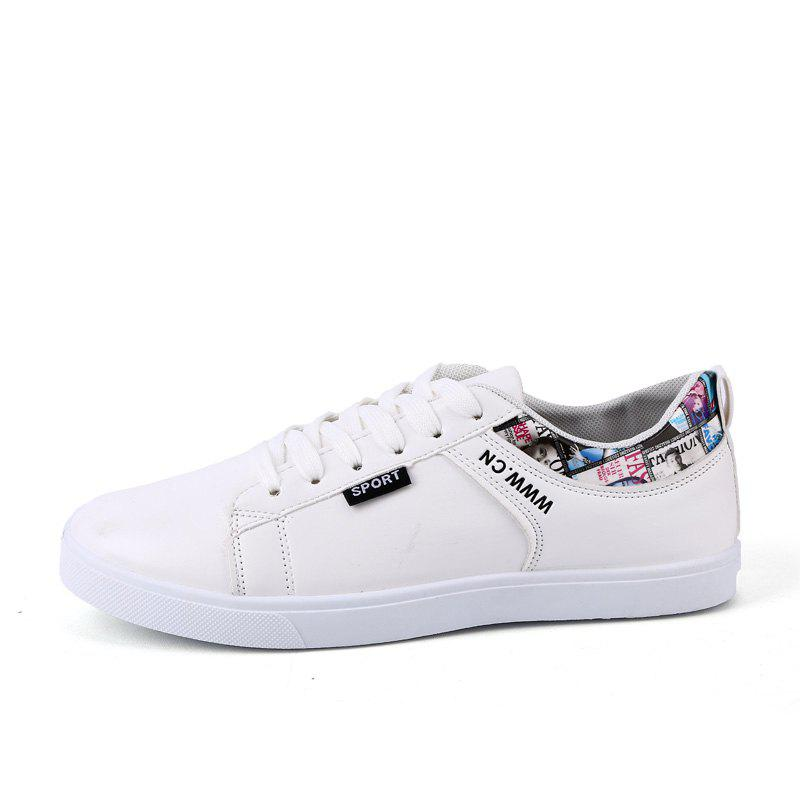 Fashion Trendy Simple Slip-on Ventilate Skateboarding Shoes