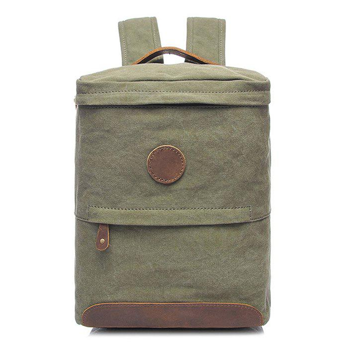 Shops GFAVOR Men s Canvas Retro Creative Travel Large Capacity Casual  Backpack 082ee182be