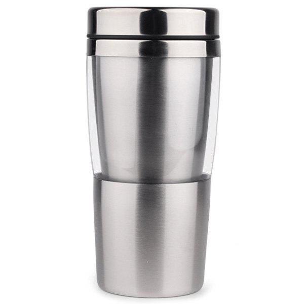 Heat Resistant Anti shock Double layer Stainless Steel Travel Mug