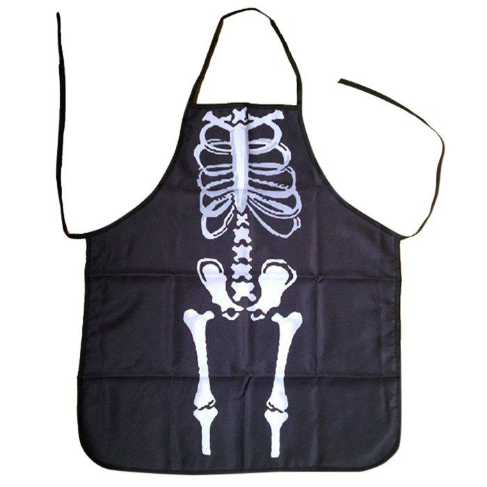Unique Halloween Skeleton Horror Gift Home Party Apron