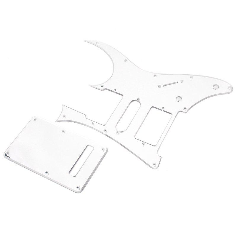 Latest Mirror Pickguard + Back Cover Set for Ibanez RG350 EXZ EX HSH
