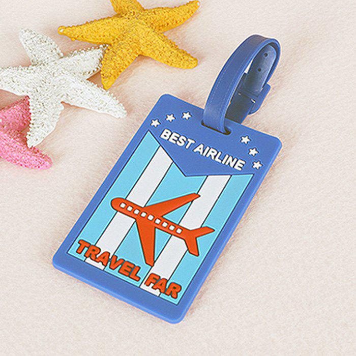 Outfit Cartoon Design PVC Luggage Tag Label