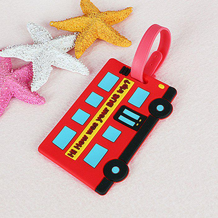 Chic Cartoon Design PVC Luggage Tag Label