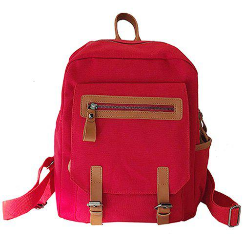 Hot Literary Trend Female Backpack for Outdoor Travel