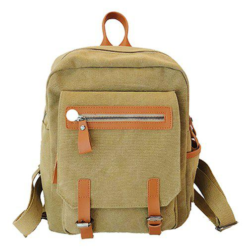Outfit Literary Trend Female Backpack for Outdoor Travel